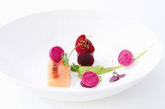 Andreas Caminada | Char and beetroot | Schauenstein Restaurant -Fürstenau Switzerland