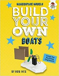 "Read ""Build Your Own Boats"" by Rob Ives available from Rakuten Kobo. Landlubbers can make a splash with these easy-to-make watercraft using simple, everyday items! You'll be surprised how y. Make A Boat, Build Your Own Boat, How To Build Steps, Great Hobbies, New Engine, Small Boats, You Gave Up, Boat Plans, Boat Building"