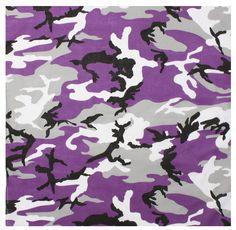 Rothco Ultra Violet Camo Bandana - Ultra Violet Camouflage Bandana x - Cotton. Also Known As Purple Camouflage Military Bandana. Camouflage Bandana, Camouflage Patterns, Military Camouflage, Camouflage Wedding, Army Camo, Camoflauge Wallpaper, Camo Wallpaper, Camo Bedding, Biker