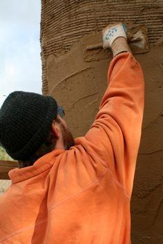 earth plaster recipe - good strawbale buliding link