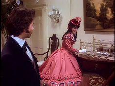 Terri Garber as Ashton in North and South Miniseries book 2 WIith Bent played by Philip Casnoff North And South, Civil War Movies, Beautiful Wedding Gowns, Southern Belle, Costume Design, Good Movies, Ball Gowns, Elegant, Celebrities