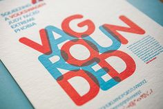 Type Specimen on Behance