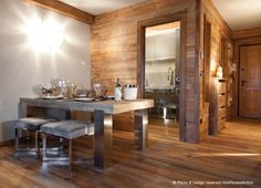 Rustic&Modern Mountain Style Home by Arte Rovere Antico || Photo by Duilio Beltramone for Sgsm.it ||
