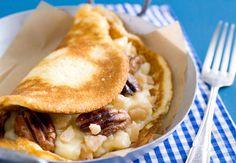 Crêpes soufflées pralinées aux noix de PécanVoir la recette des crêpes soufflées pralinées