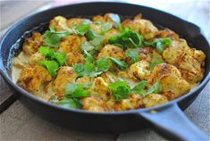 Creamy Curried Cauliflower