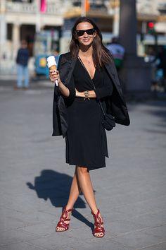 Stockholm Street Style Spring 2014  - HarpersBAZAAR.com
