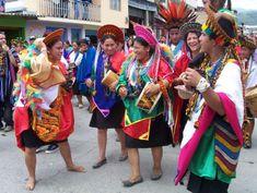 Comunidad Inga, Valle de Sibundoy Colombia