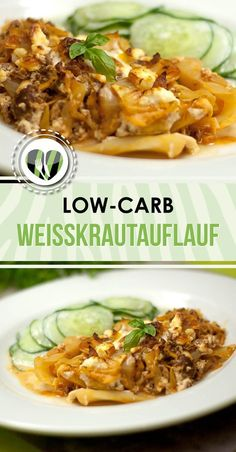 White cabbage casserole - Low Carb - LCHF - Healthy - Delicious - The white cab. - White cabbage casserole – Low Carb – LCHF – Healthy – Delicious – The white cabbage cass - Paleo Dinner, Healthy Dinner Recipes, Paleo Recipes, Low Carb Recipes, Soup Recipes, Lunch Recipes, Cena Paleo, Law Carb, Cabbage Casserole