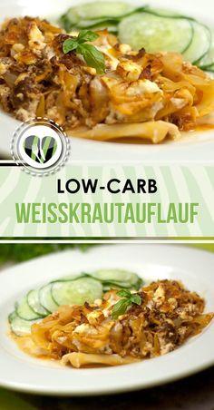 Der Weisskrautauflauf ist low-carb, glutenfrei und einfach zubereitet. Zudem ist das Rezept auch super lecker.