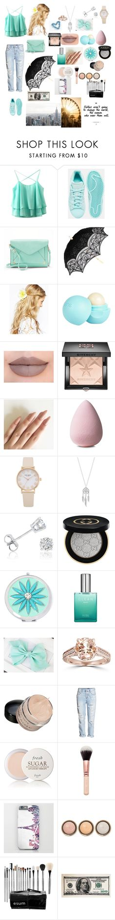 """""""Untitled #27"""" by fashion-dora15 ❤ liked on Polyvore featuring adidas, Apt. 9, ASOS, River Island, Jeffree Star, Givenchy, Lucky Brand, Amanda Rose Collection, Gucci and Liz Claiborne"""