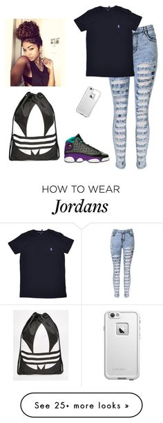 """""""BANG THIS!!"""" by dopeoufits245 on Polyvore featuring Retrò, Ralph Lauren, adidas and LifeProof"""