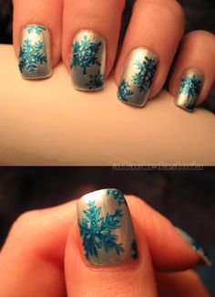 winter nails!