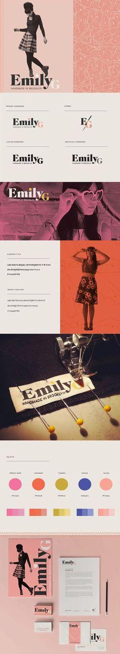 Emily G Branding by This is Star | Fivestar Branding – Design and Branding Agency & Inspiration Gallery