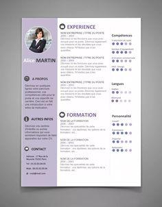 CV 34 | Maxi CV. Free Resume Templates WordBest ...