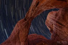 Jay Patel - A Date Under the Stars, Arches National Park, Utah Star Trails, Grand Staircase, Under The Stars, Shooting Stars, Antelope Canyon, Utah, Sunrise, National Parks, Arches