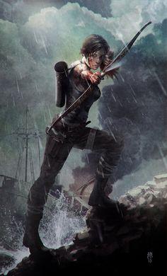 Tomb Raider - Lara Croft: The Last Arrow II by JUNAIDI.deviantart.com on @deviantART