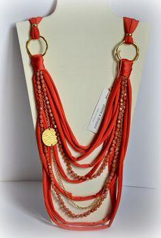 In corespun yarn with beads