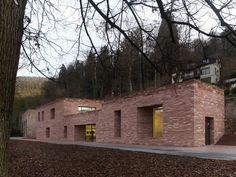Max Dudler Architekt, Stefan Müller · Heidelberg Castle Visitor Centre