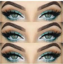 Wie Rock Make-up für grüne Augen & Make-up-Ideen, Tutorials - Frisuren Frauen Como maquillaje de roca para ojos verdes e ideas de maquillaje, tutoriales Rock Makeup, Sexy Eye Makeup, Silver Eye Makeup, Gorgeous Makeup, Skin Makeup, Glamorous Makeup, Turquoise Eye Makeup, Makeup Eyeshadow, Amazing Makeup