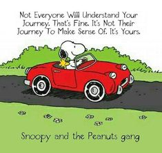 Image result for snoopy in a car