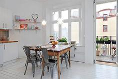 世界の大人インテリア #1 スウェーデンのリノベーションアパート