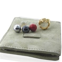 Funky Gilbert Albert gold ring with interchangeable multi color beads. Ring Size - Is Wide. Beads - in diameter. Ring (Without Beads) - g 4 Beads - g. Gold Rings, Gemstone Rings, 18k Gold, Coin Purse, Jewelry Watches, Fine Jewelry, Stud Earrings, Gemstones, Beads
