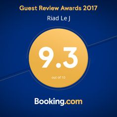Thank you to all of our guests!! #riadlej #Booking #2017 #guestawards #review #Marrakech #proud #happy #thankyou #Morocco #maisondhotes #b&b #riad #africa