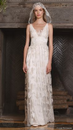 "Claire Pettibone Fall 2017 Wedding Dresses — ""The Four Seasons"" Couture Bridal Collection 