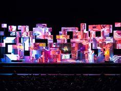 Amon Tobin On Tour - Dazzling Lighting Design in Frame #90