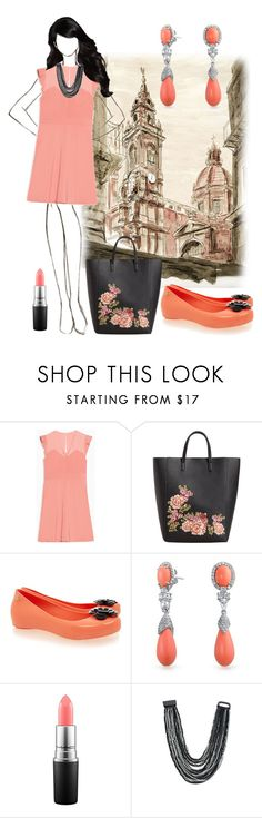 """""""Untitled #4393"""" by empathetic ❤ liked on Polyvore featuring Max&Co., MANGO, Bling Jewelry, MAC Cosmetics and Venus"""