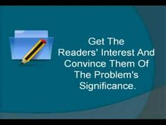 ▶ Dissertation Proposal - Tips To A Winning Proposal - YouTube