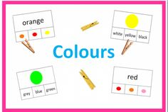 Colours - 2 varianty Red And Grey, Yellow Black, Blue Grey, 2 Colours, Red Color, English, Orange, Green, English Language