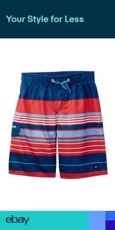 866f953c45fc7 Boys Size 5 Quiksilver Boardshorts NEW board shorts Swim quicksilver New  Board, Little Boys,