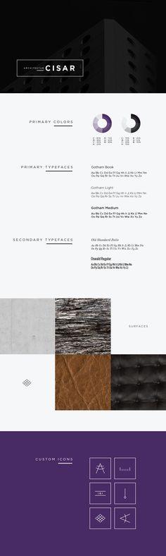 Branding Guide -  Architektur Cisar Style Guide