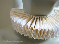 Ruffle Collar Elizabethan