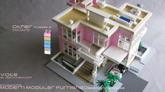 Updated Photo: Please vote for my #modern #modular #lego #house on #Lego #Cuusoo http://lego.cuusoo.com/ideas/view/37875