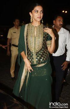 Deepika Padukone in Sabyasachi Sharara/Gharara – Padmavat Sharara, Patiala, Indian Fashion, Womens Fashion, Anarkali Suits, Punjabi Suits, Sabyasachi, Indian Ethnic Wear, Indian Designer Wear