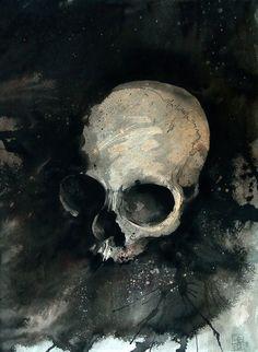 Great watercolor skull  PTJfuDM/s1600/chinese_watercolor_skull_blog.jpg