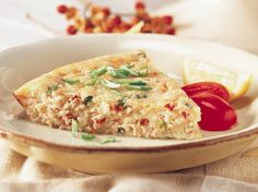 Ahoy there!  A savory blend of crab and rich cheeses bakes in this delicious pie that's hearty enough to satisfy even the hungriest of crews.
