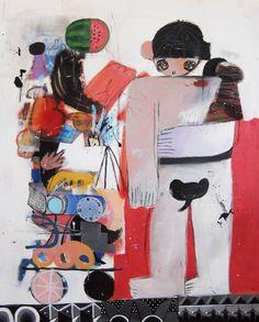 "Saatchi Art Artist Tessar Lo; Painting, ""twin,"" #art"