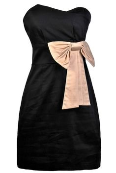 Chic and elegant with a whimsical touch describes this little black dress.  The Bow Tie. Pencil Cut SkirtBlack ... d2b3af1cb