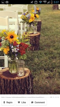 Love this idea and it's perfect for my Bonnie and Clyde Wedding theme. It's cheap and easy for any financial situation!