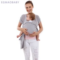 EGMAOBABY Baby Carrier Sling For Newborns Soft Infant Wrap Breathable Wrap  Hipseat Breastfeed Birth Comfortable Nursing Cover f38b6499a72