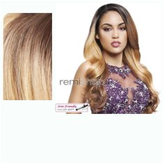 Thu Nov 9, 2017 - #7: Lace Front Queen Collection Eugenie  - Color TT4/872 - Synthetic (Curling Iron Safe) Regular Lace Front Wig