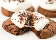 Pip y Ebby - Pip y Ebby - galletas de chocolate caliente Yummy Recipes, Cookie Recipes, Dessert Recipes, Yummy Food, Cookie Ideas, Recipies, Pie Recipes, Baking Recipes, Dinner Recipes