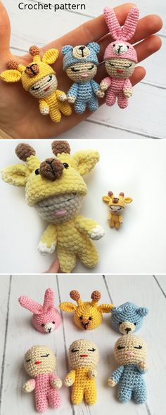 Crochet Animal Patterns, Crochet Doll Pattern, Baby Patterns, Knitting Patterns, Diy Crochet And Knitting, Crochet Bunny, Handmade Toys, Etsy Handmade, Crochet Christmas Gifts