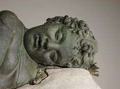 Bronze statue of Eros sleeping,Hellenistic period, 3rd-2nd BC