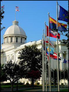 Alabama State Capitol  Montgomery, AL, USA