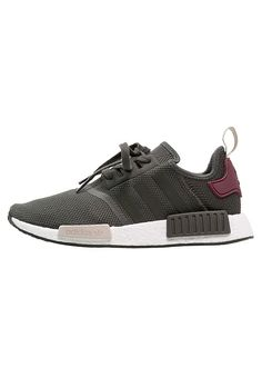 adidas Originals NMD_R1 W - Trainers - utility green/maroon for £99.99 (01/02/17) with free delivery at Zalando