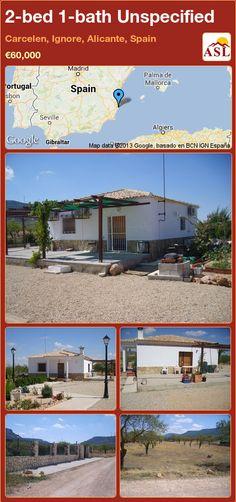 2-bed 1-bath Unspecified in Carcelen, Ignore, Alicante, Spain ►€60,000 #PropertyForSaleInSpain
